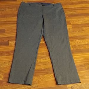 Lane Bryant Gray The Allie Trousers